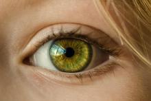 Stock photo of a close-up human eye